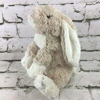 Jellycat Bunny Rabbit Plush Tan Shaggy Floppy Stuffed Animal Soft Comfort Toy