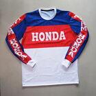 Vintage Style Mesh Motocross Jersey Honda Retro MX Cool !!