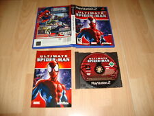 ULTIMATE SPIDER-MAN DE ACTIVISION PARA LA SONY PLAY STATION 2 USADO COMPLETO