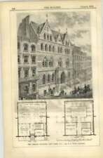 1872 The Library Building New York, Us, Pb Wight Architect