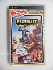 jeu PURSUIT FORCE sur sony PSP en francais game spiel juego gioco complet TBE