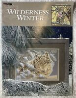Wilderness Winter Cross Stitch Book 3186 Bunny Polar Bear Elk Lynx Wolf Geese