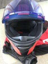 WOMENS MOTORCYCLE HELMET SIZE S - MT WARHEAD STINGER PERFECT CONDITION