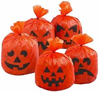 Pack of 20 Pumpkin Leaf Bags Hanging Decoration Halloween Party Tree Decorations