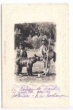 CPA  EUROPE ANIMAL -  ROUMANIE MONTREUR D'OURS OURS BEAR URSARI BRAILA 1904 ~A83