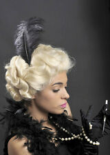 Deluxe Blonde Curly 1920s Charleston Glamour Wig