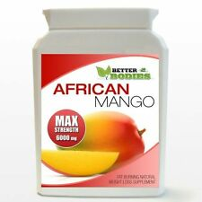 90 6000mg MAX STRENGTH AFRICAN MANGO MAX STRONG SLIMMING TABLETS DIET BOTTLE