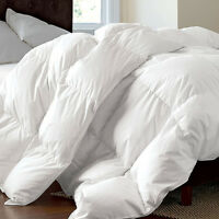 Luxury Goose Feather & Down Duvet Quilt Single Double King Super King 13.5 Tog