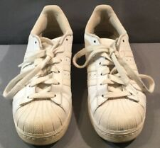 Mens White Adidas Superstar Tennis Shoes Size 6