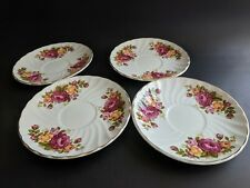 Wood & Sons COTTAGE ROSE  4 Saucers