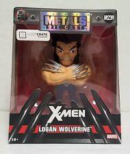 X-Men Logan Wolverine M239 Loot Crate Exclusive Metals Die Cast 4 in. Figure