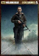 "The Walking Dead RICK GRIMES 12"" Action Figure 1/6 Scale AMC TV Series ThreeZero"