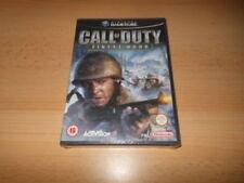 Jeux vidéo manuels inclus Call of Duty pour Nintendo GameCube
