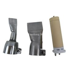 20mm+40mm flat nozzle+heat element for Leister plastic welder hot air gun