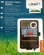 Orbit unidad de control 9 estaciones 3 programas transformador interior