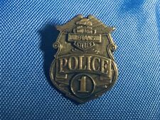 GENUINE HARLEY DAVIDSON Collector Pin POLICE BADGE Theme