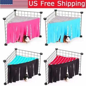 US Soft Guinea Pig House Bed Cage For Hamster Mini Animal Mice Rat Nest Bed