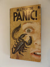 1975 PANIC by Bill Pronzini PAPERBACK Sphere Books THRILLER