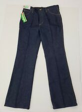 Vintage Mens New Wrangler 38X34 (Long) Boot Cut Slim Fit Jeans Made in USA