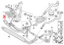 Genuine BMW E82 E88 E90 E90N Active Steering Expansion Hose OEM 32416784394