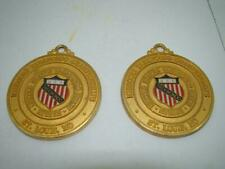 Two TAEKWONDO CHAMPIONSHIPS MEDALS  GRAND MASTER YOUNG CHUL RHO