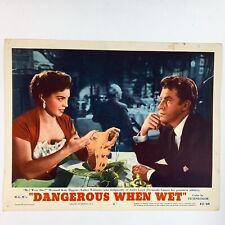 Dangerous When Wet 1953 MGM Esther Williams Lobby Card