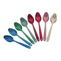 Bamboo Wood Salad Servers - High Quality Bamboo Fibre Salad Spoon - Salad Fork