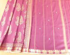 Banarsi Silk Indian Traditional Jaipur Saree Sari + Matching Blouse piece