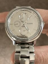 fossil ladies watch used