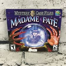 Mystery Case Files: Madame Fate Jewel Case (PC, 2010)