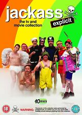 Jackass The complete TV & Movie DVD Collection Explicit New and sealed
