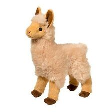 "JASPER GOLDEN LLAMA plush Douglas Cuddle Toy 7.5"" tall stuffed animal alpaca"