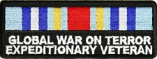 Global War On Terror Expeditionary Patch - By Ivamis Trading - 4x1.5 inch P3148