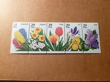 United States Scott 2764a, the Garden Flowers booklet Mint