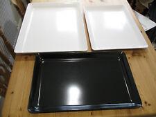 2 White 1Black Tray Heavy Duty  Buffet Cafe Restaurant Window Display Butchery