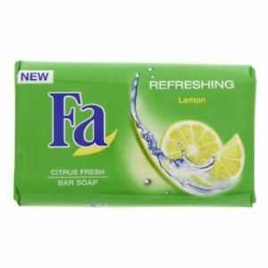 Fa Refreshing Bar Soap Lemon Care for your skin, even when washing. 125g