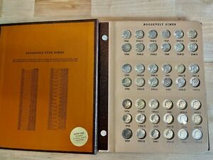 Roosevelt 10C Dimes BU Set Including Proof-Only Issues 1946-2008 99c NO RESERVE