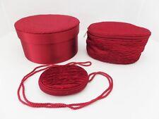Vintage Shisedo Overnight Travel Bag Cosmetic Storage Case Matching Set 3 Vanity