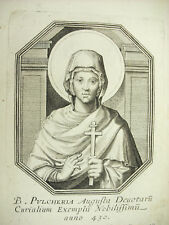 Sainte Pulchérie Aelia Pulcheria Michiel VAN LOCHOM Duchesse d'Aiguillon 1639