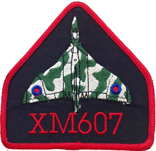 Hawker Siddeley Vulcan XM607 Op Black Buck Royal Air Force RAF Embroidered Patch