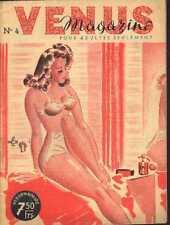 VENUS 4 50s sexy Magazine curiosa Pinup Illustrations revue lingerie bra bath