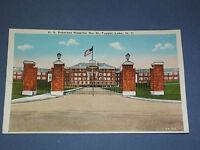 VINTAGE US VETERANS HOSPITAL TUPPER LAKE  NEW YORK   POSTCARD