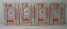 "4 Plate Hangers 7-7 1/2"" w/ Plastic Tips Goods of the Woods #700 NOS"