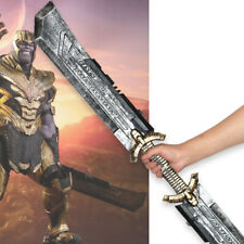 Avengers: Endgame Thanos DOUBLE-EDGED SWORD Halloween Cosplay Costume Prop PU