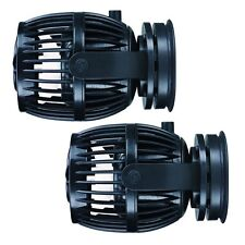 2 Packs Jebao RW20 PP20 Reef Wave Maker with Controller Powerhead Pump 110v US