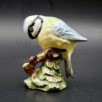 Beswick Blue Tit 992 Bird Figurine Porcelain England Vintage