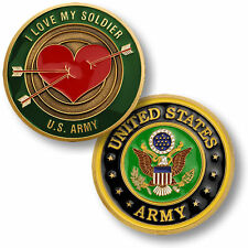 I Love My Soldier - US Army Challenge Coin NEW
