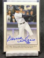 2020 Topps Archives Snapshots BERNIE WILLIAMS Walkoff Wires Auto YANKEES #/25!!