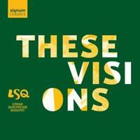 Lunar Saxophone Quartet-These Visions CD CD  New