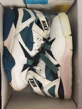 1991 Nike Air Trainer Max WH/Marina-Grey Jade Dead stock (not RETROS) Sz 10